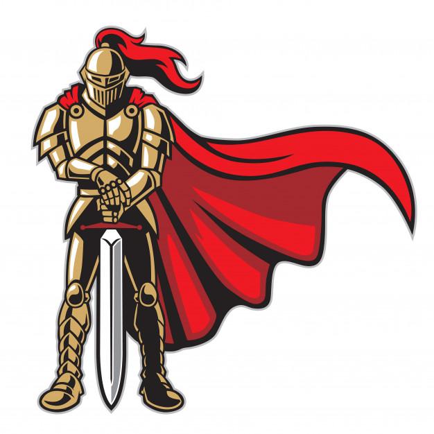 Un guerrero del SEO con un trofeo