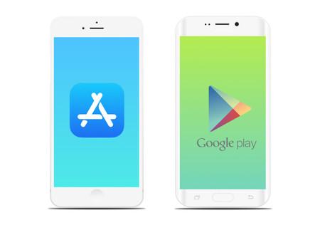 App Store y Google Play Store
